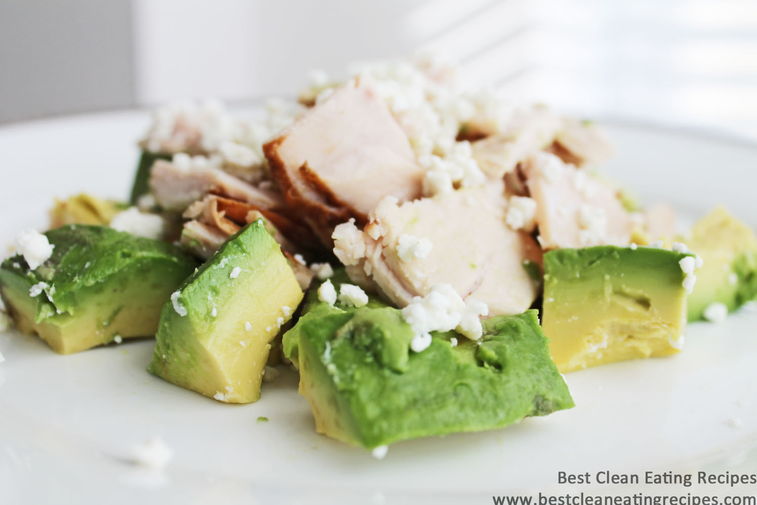 Clean Eating Recipe – Turkey Avocado Feta Salad