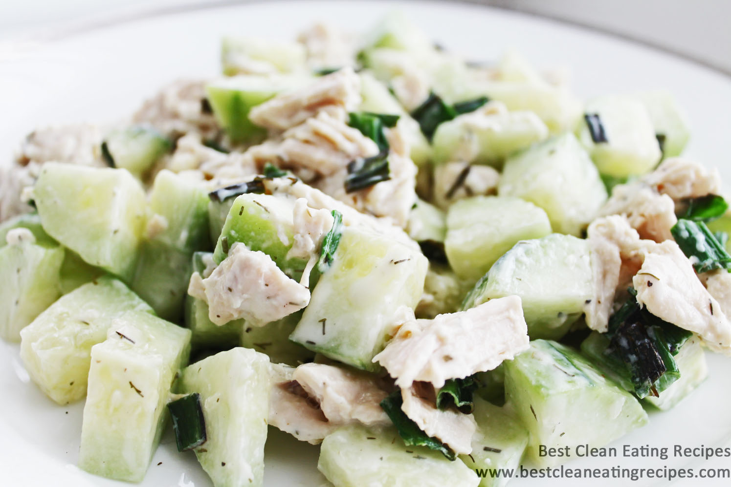 Clean Eating Recipe – Chicken Cucumber Dill Salad