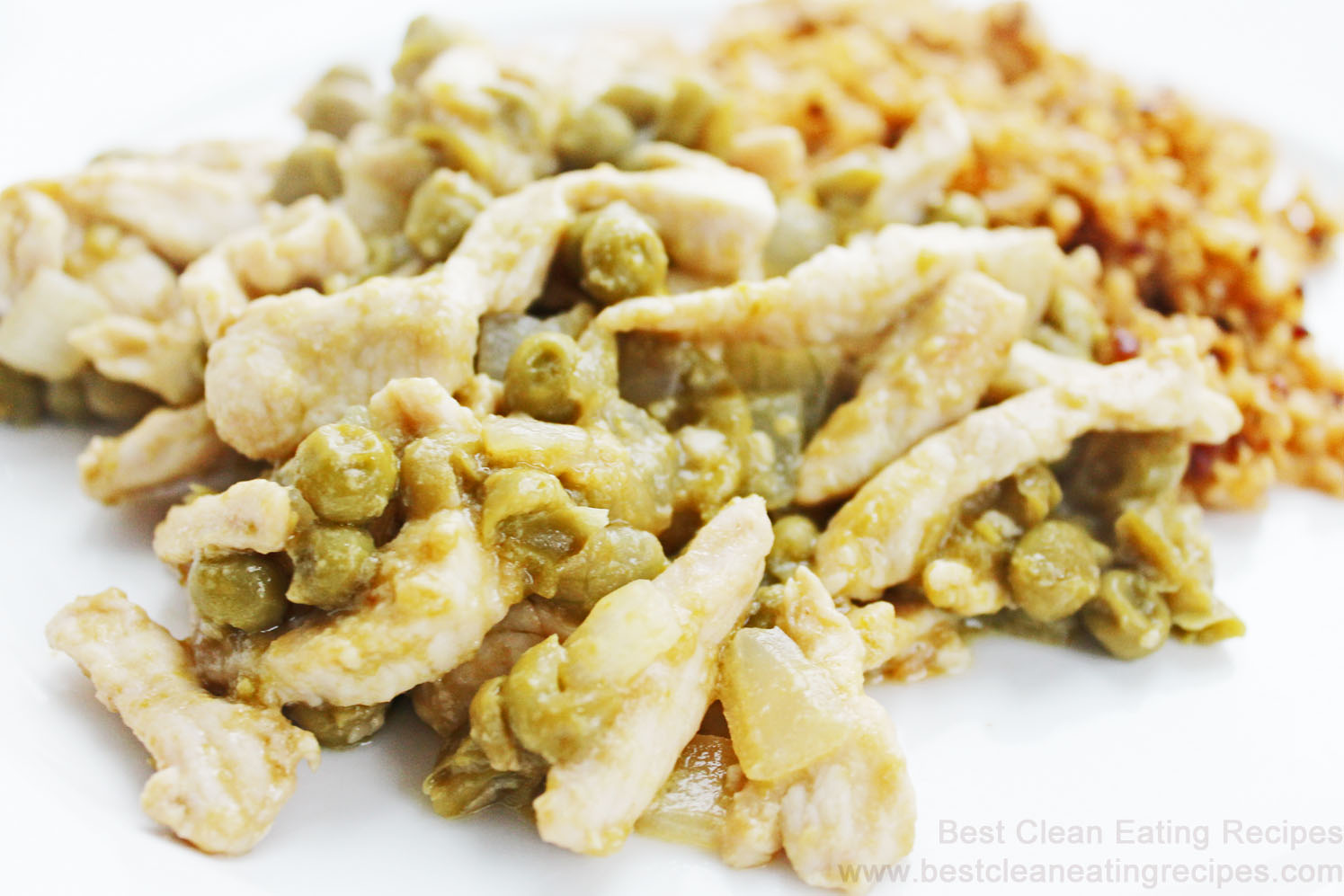 Clean Eating Recipe – Chicken and Sweet Pea Stir Fry