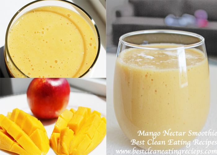 Clean Eating Dessert – Mango Smoothie Recipe