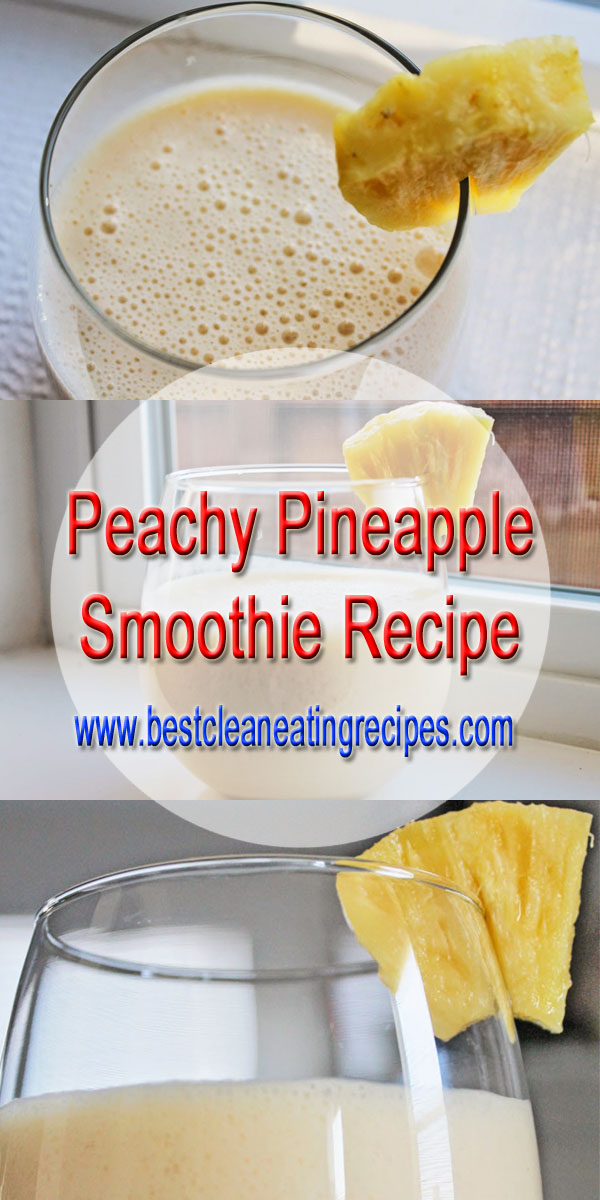 healthy smoothie recipe for eat clean diet