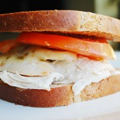 clean eating sandwich