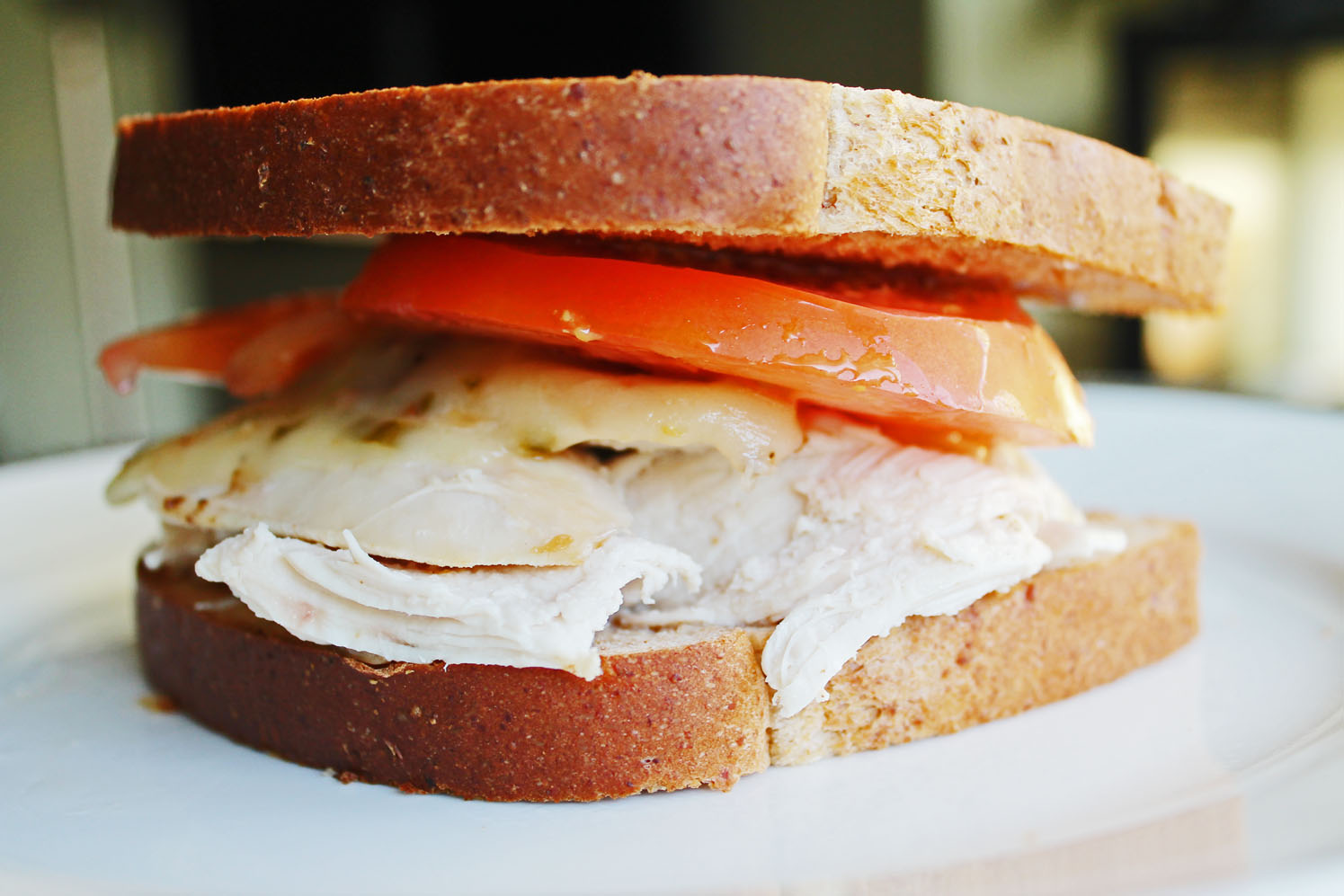 Clean Eating Lunch: Pepper Jack Cheese Sandwich