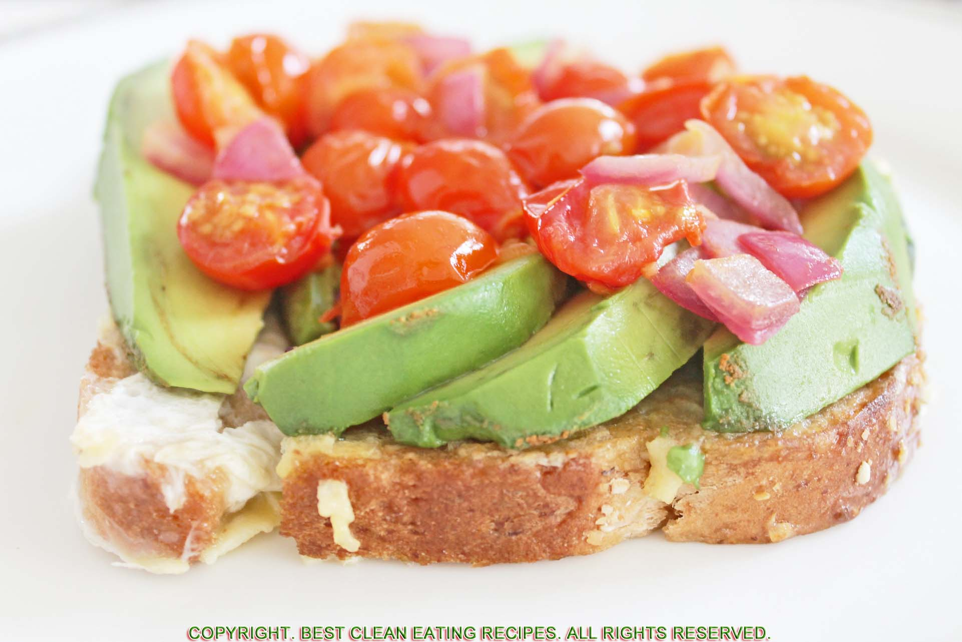 VEGGIE-TOPPED FRENCH TOAST